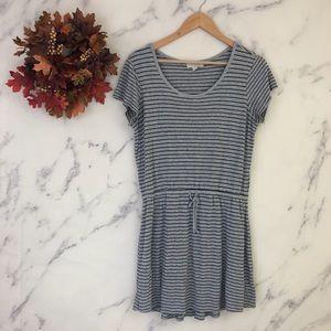 Olive & Oak Striped Ribbed Knit Dress